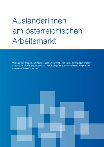 AusländerInnen am österreichischen Arbeitsmarkt