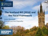 the Fiscal Framework