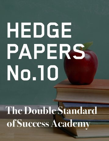 HEDGE PAPERS No.10