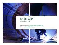 NYSE GBX