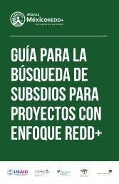 Guía para la búsqueda de subsdios para proyectos con enfoque REDD+
