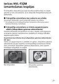 Sony HVL-F32M - HVL-F32M Consignes d'utilisation Letton - Page 7