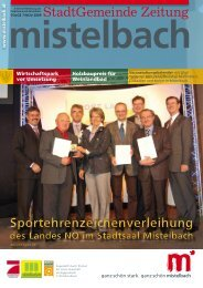 Gemeindezeitung 2009/7 (4,42 MB) - Mistelbach