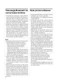 Sony ECM-HW2 - ECM-HW2 Mode d'emploi Roumain - Page 4