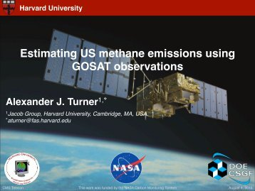 Estimating US methane emissions using GOSAT observations!