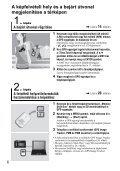 Sony GPS-CS3KA - GPS-CS3KA Consignes d'utilisation Hongrois - Page 6