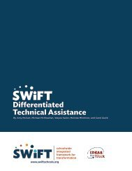 Differentiated Technical Assistance