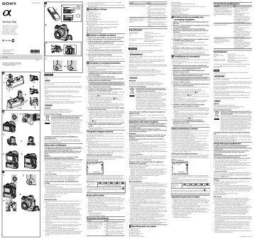 Sony VG-C1EM - VG-C1EM Mode d'emploi Hongrois