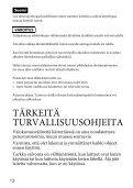 Sony HVL-F60M - HVL-F60M Consignes d'utilisation Finlandais - Page 2