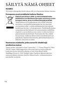 Sony HVL-F60M - HVL-F60M Consignes d'utilisation Finlandais - Page 4