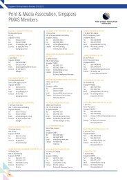 Singapore Logistics Association Members List - Marshall