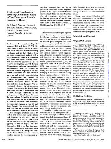 II - Journal of the National Cancer Institute