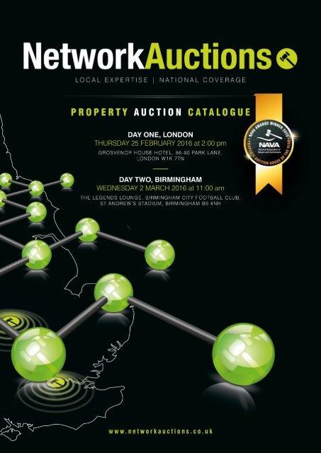 T 020 7871 0420 | E auctions@networkauctions.co.uk