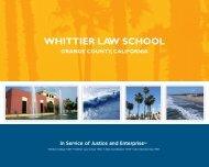 COURSESATWHITTIER cont. - Whittier Law School - Whittier College
