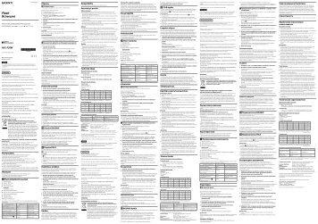 Sony HVL-F20M - HVL-F20M Consignes d'utilisation Tchèque