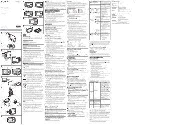 Sony RM-LVR1 - RM-LVR1  Polonais