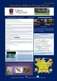 Newsletter Kilburn Grange School