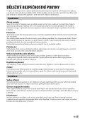 Sony CSS-HD2 - CSS-HD2 Consignes d'utilisation Tchèque - Page 3