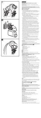 Sony VCT-BPM1 - VCT-BPM1 Consignes d'utilisation Roumain - Page 2