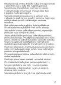 Sony HVL-F43AM - HVL-F43AM Mode d'emploi Tchèque - Page 5