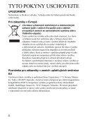 Sony HVL-F43AM - HVL-F43AM Mode d'emploi Tchèque - Page 6