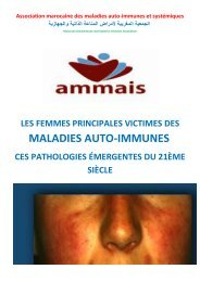 LES FEMMES PRINCIPALES VICTIMES DES MALADIES AUTO-IMMUNES