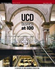 UCD Business at 100 - University College Dublin