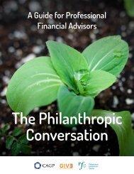 The Philanthropic Conversation