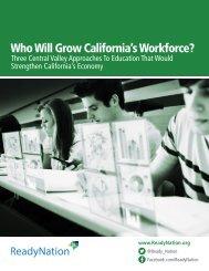 Who Will Grow California's Workforce?