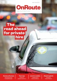 road ahead for private hire