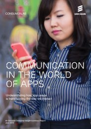COMMUNICATION IN THE WORLD OF APPS