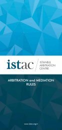 ARBITRATION and MEDIATION RULES
