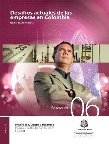 desafios actuales de las organizaciones colombianas