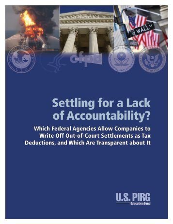 Settling for a Lack of Accountability?
