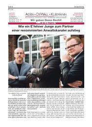 Aden Dewall Kleemann | Bürgerspiegel