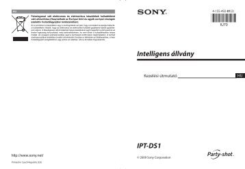 Sony IPT-DS1 - IPT-DS1 Consignes d'utilisation Hongrois