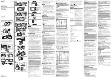 Sony MPK-THJ - MPK-THJ Consignes d'utilisation Allemand