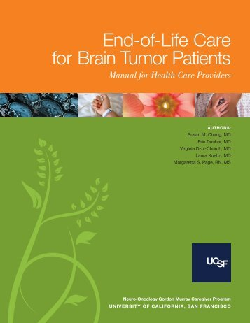 End-of-Life Care for Brain Tumor Patients