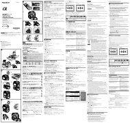 Sony VG-C77AM - VG-C77AM Mode d'emploi