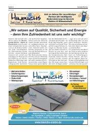Hinrichs Elektro- und Klimatechnik | Bürgerspiegel