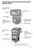 Sony HVL-F56AM - HVL-F56AM Consignes d'utilisation Slovaque - Page 7