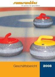Geschäftsbericht 2008 - Sumiswalder