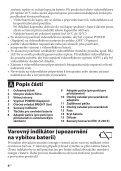 Sony HVL-LE1 - HVL-LE1 Mode d'emploi Slovaque - Page 6