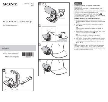 Sony BLT-CHM1 - BLT-CHM1 Consignes d'utilisation Roumain