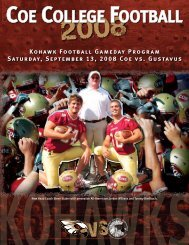 Kohawk Football 2008 - College Football Dvds-Media Guides Project