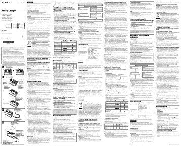 Sony BC-TRX - BC-TRX Consignes d'utilisation Roumain