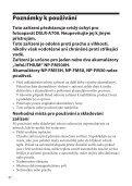 Sony VG-C70AM - VG-C70AM Consignes d'utilisation Tchèque - Page 6