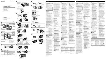 Sony SPK-DVF4 - SPK-DVF4 Consignes d'utilisation Italien