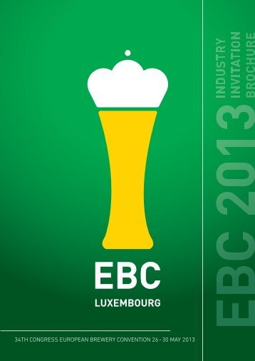 who exhibits - the 34th European Brewery Convention