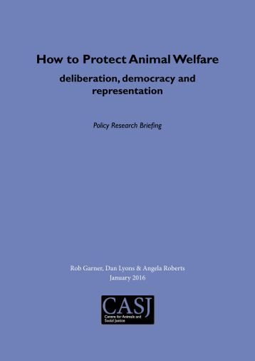 How to Protect Animal Welfare